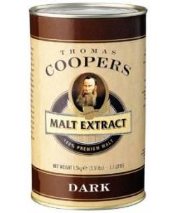Iesala ekstrakts DARK Coopers 1,5 kg