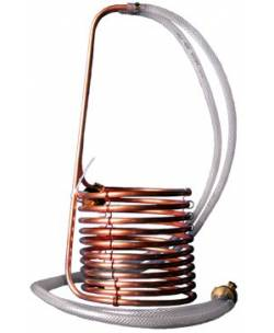 Wort-chiller copper immersion+connector
