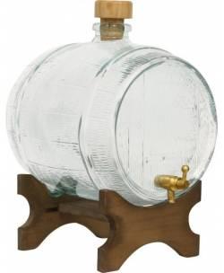 Dekoratiivne klaasist tünn 2 L