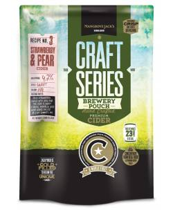 Strawberry & Pear Cider Pouch