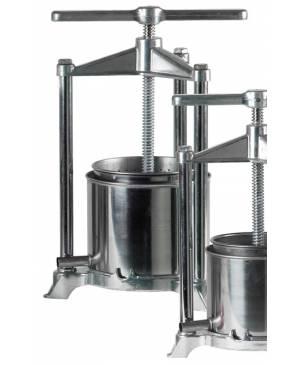 Alunumium / Stainless steel press 5.3 L