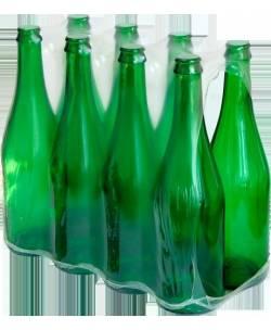 Šampanieša pudeles 0,75 L, 8 gb