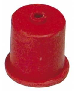 Gumijas vāciņš ar caurumu HISAB 40mm