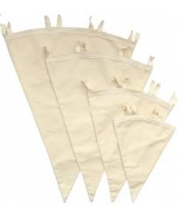 Мешки для фильтрации конусовидные 100% хлопок (3л)
