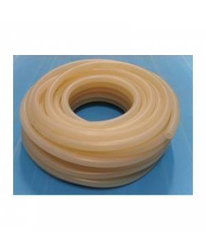 Silikona caurule 10x14 mm, -50°C līdz 260°C hermētiska, metrs