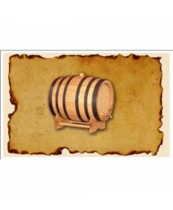 Oak barrel 100L