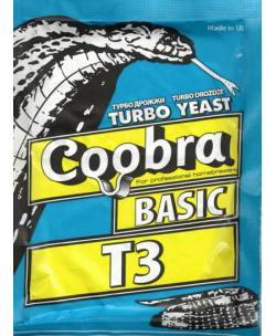 Alkoholi pärm COOBRA BASIC T3