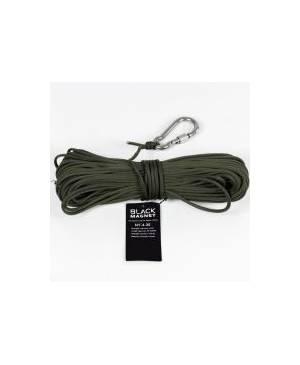 Black Magnet 4mm heaving line