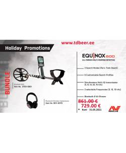 Minelab Equinox 600 + Bluetooth Wireless Headphones Promotions