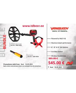 Minelab VANQUISH 540 Pro Pack + Pro-Find 20 (FREE) PROMOTIONS
