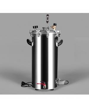 Autoclave Kubana 35L with 2kW heating element and regulator